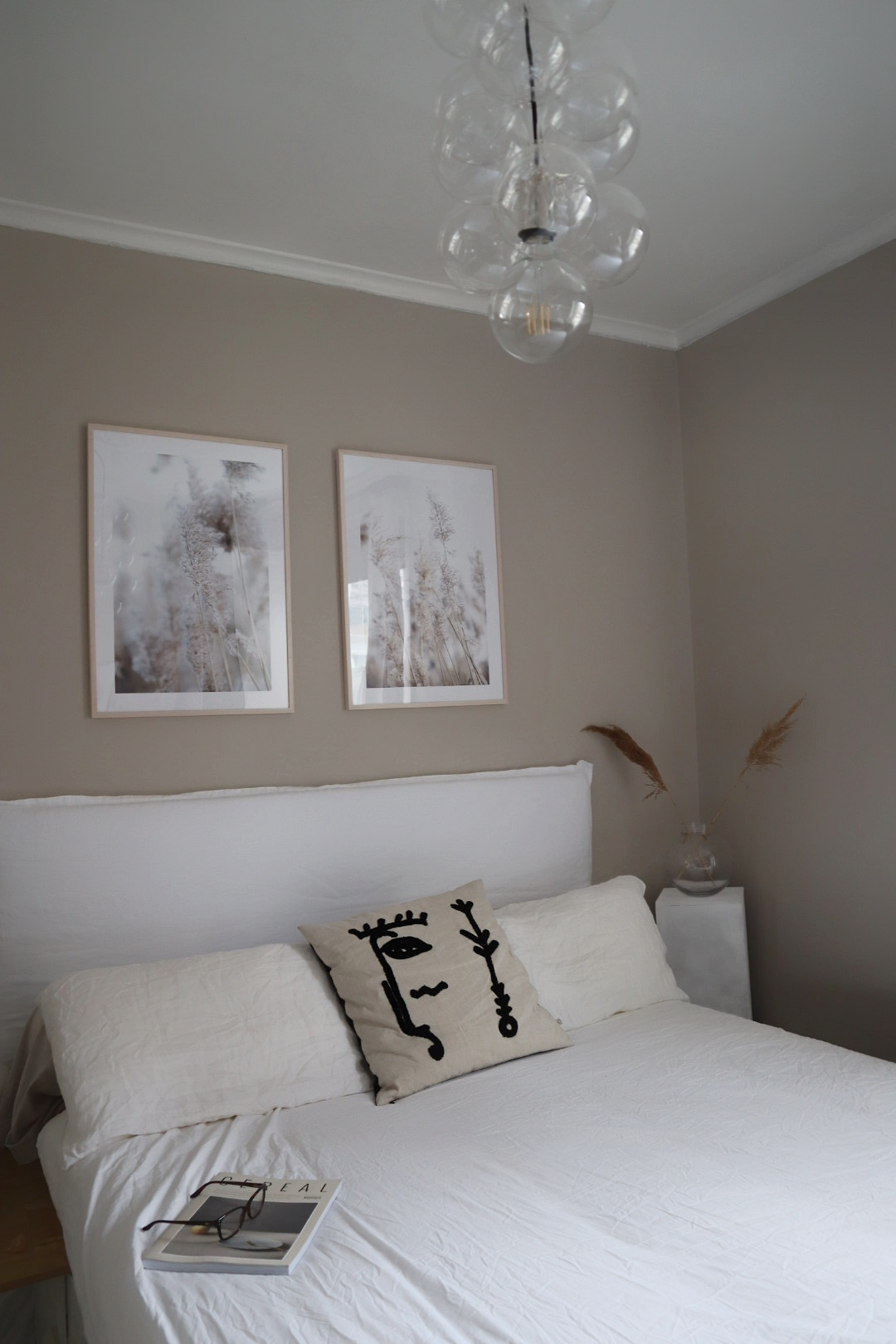 Diy Linen Headboard For Your Bedroom Create A Bespoke Simple Minimalist Headboard